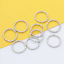 100Pcs Jump Ring Twisted Open Fancy Rope Connectors Jewlery Making 8//15//18//20mm