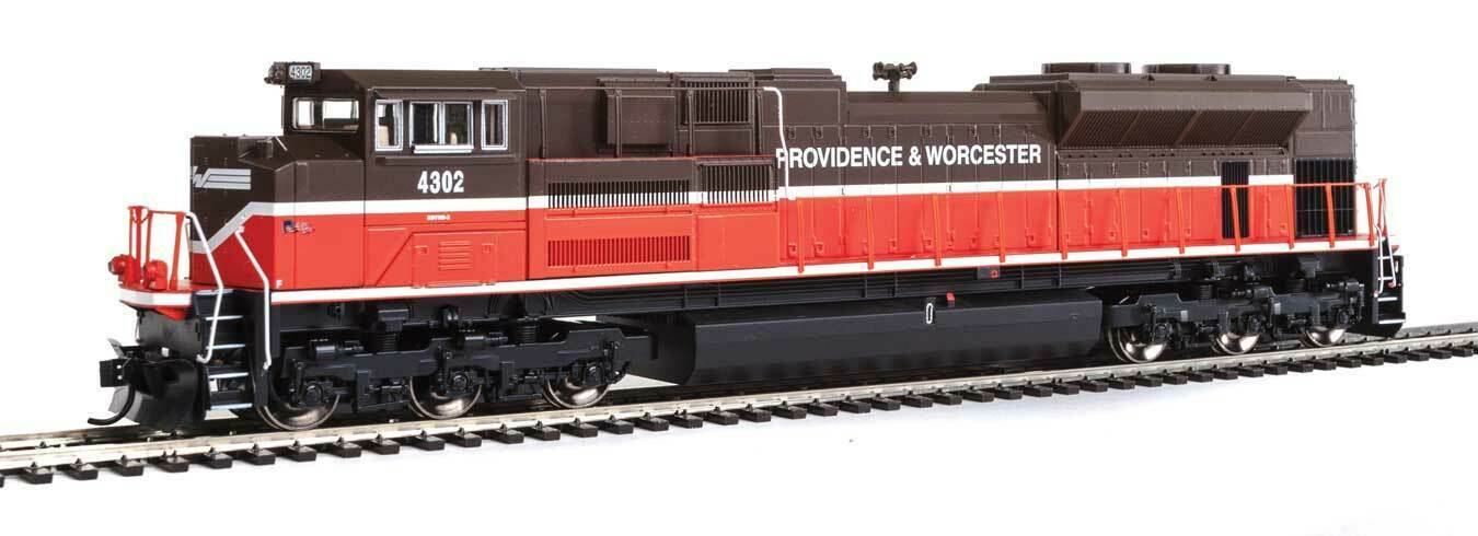 Traccia h0-DIESEL EMD sd70ace Providence & Worcester DCC + SOUND - 19844 NUOVO