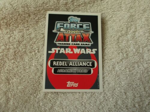 "Topps Star Wars Force Attax /""R2-D2/"" #17 Rebel Alliance Card"