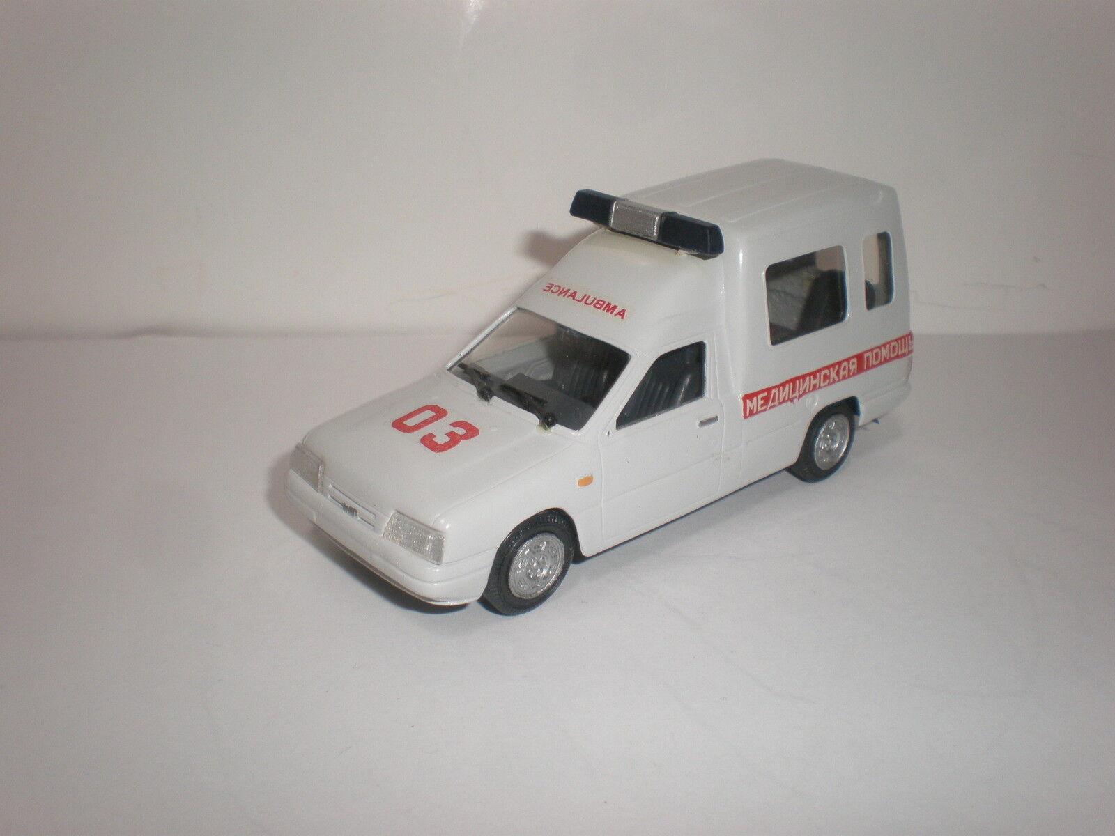 1   43 russische russische russische moskvich izh 2717-90 krankenwagen handarbeit. 5ef503