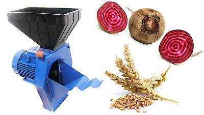 Sugar Beet Forage Cutter Fodder Chopper for Root Plants Corn Grain Cereal 220V