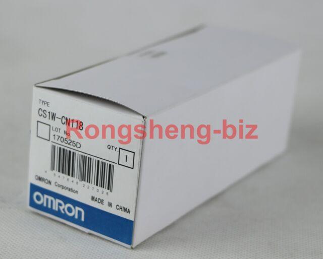 CS1WCN118 NEW NO BOX OMRON CS1W-CN118