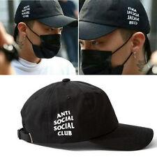 TAEYANG G-DRAGON BIGBANG BLACK SNAPBACK CAP HATS KPOP NEW GD MADE