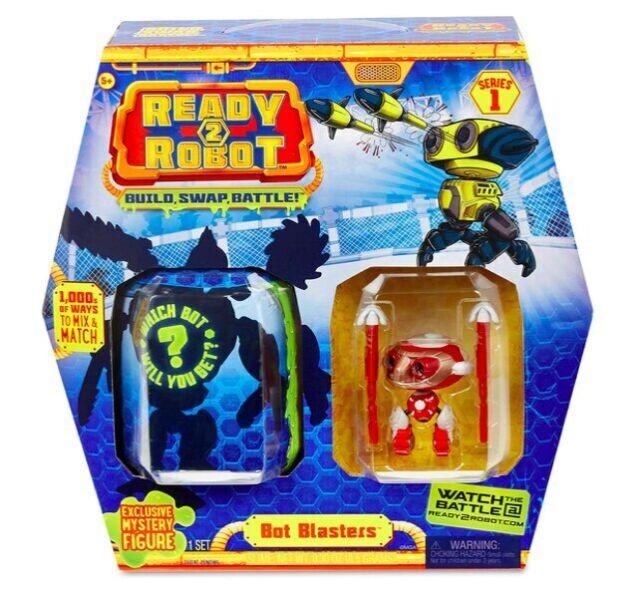 Ready2Robot Series 1 Pilot Pack Brand New Black /& Red Pilot