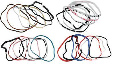 Zest 6 Pack Hair Elastics Headbands Hair Accessories