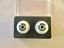 26mm Light Grey Glastic Realistic Doll Eyes
