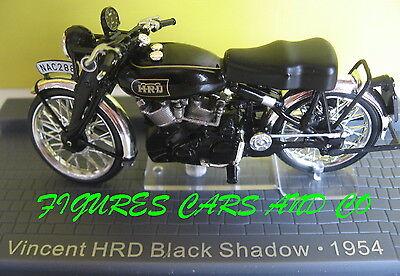 Vincent HRD Black Shadow 1954 Schwarz 1//24 Modellcarsonline Modell Motorrad mi..