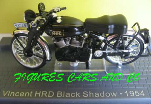 1//24 MOTO  CLASSIQUE 1000 VINCENT HRD BLACK SHADOW 1954 MOTORCYCLE MOTORRAD