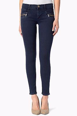 2019 Nuovo Stile Nuova Con Etichetta Hudson Donna Sz28 Chimera Zip Skinny Elasticizzato Jeans Blu