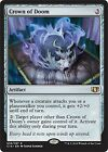 Crown of Doom  X4 NM  Commander 2014  MTG  Magic Cards  Artifact   Rare