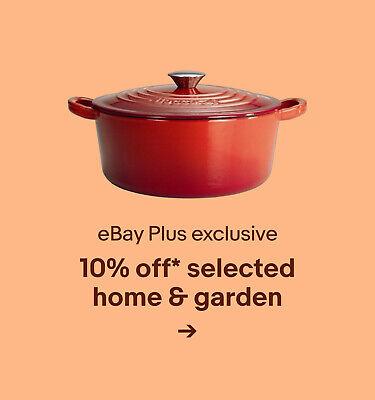 10% off* selected home & garden