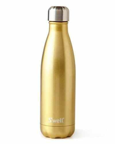 NEW NIB S'WELL SPARKING CHAMPAGNE 25OZ WATER BOTTLE SWELL