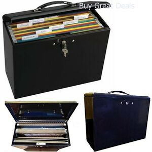 Details About Portable File Cabinet Lock Storage Organizer Home Office Metal Box Mobile Drawer