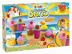 Neu-54179-Magic-Sand-Icecream-und-Bakery-Set-ca-700-g