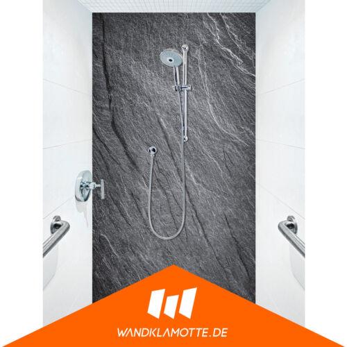 Duschrückwand eine Platte Alu Bad Dusche Wand Roccia Nobila V3