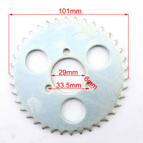 T8F 38 Tooth 29mm Rear Chain Sprocket For 43cc 49cc Minimoto Moped Pocket Bike