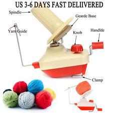 1pcs Swift Yarn Fiber String Knitting Roll Ball Wool Hand Operated Holder Winder