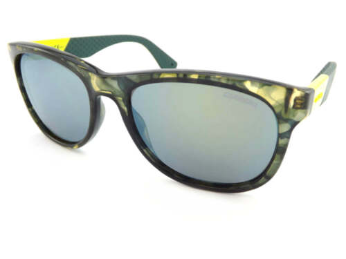 CARRERA Sunglasses Camoflauge Green Yellow// Emerald Mirror 5010//S 8HC QU