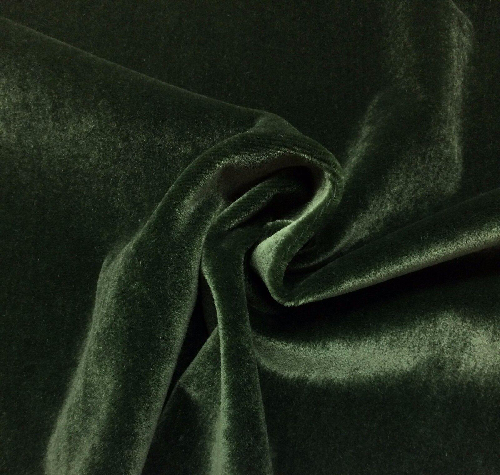 Kravet Plush Mohair Emerald Green Wool Velvet Furniture Drapery Fabric Bty 55 W For Sale Online Ebay
