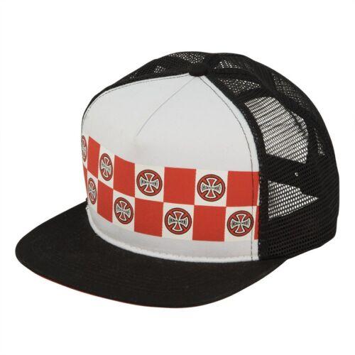 Independent Trucks BANNER REPEAT Skateboard Trucker Hat WHITE//BLACK