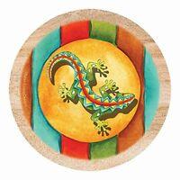 Thirstystone Drink Coaster Set, Southwest Gecko, New, Free Shipping on sale