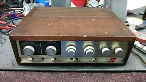 Vintage-knight-kx-60-Germanium-Amp-Stereo-Amplifier-solid-state