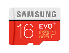 Samsung 16GB Micro SD Tarjeta SDHC EVO + 80MB/s UHS-I Clase 10 TF Tarjeta de memoria NUEVO