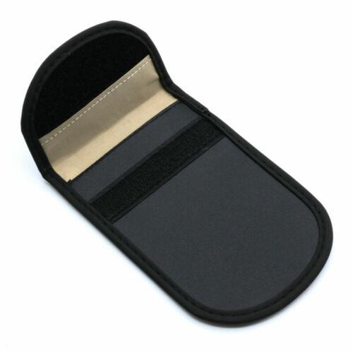 Car Wireless Key Keyless Entry Anti-Theft Signal RFID Blocker Pouch Faraday Bag