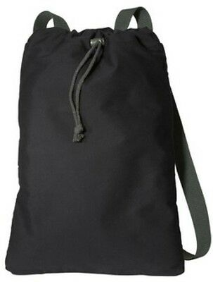 Sturdy Small Drawstring Backpack Cinch Sack Pack Cotton Canvas