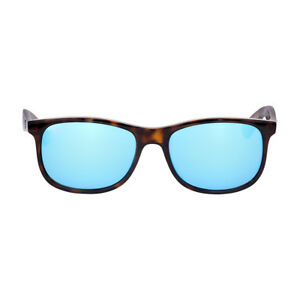 cdfb4aa60c ... sunglasses rb4202 6155 5a 55mm ce128 2cf31  closeout image is loading ray  ban andy nylon frame blue flash lens afe8b 568f9