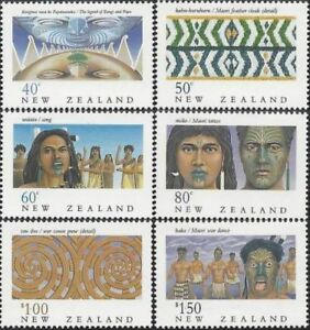 1990-New-Zealand-The-Maori-Unmounted-Mint-Stamp-Set-UK-Seller