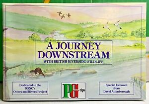 "Brooke Bond-PG Tips-David Attenborough-""Journey Downstream""-Tea Cards-Complete"