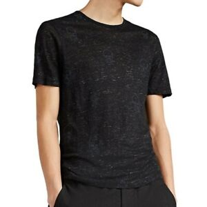 John-Varvatos-Star-USA-Men-039-s-Short-Sleeve-Skulls-Graphic-Crew-Tee-Shirt-Black
