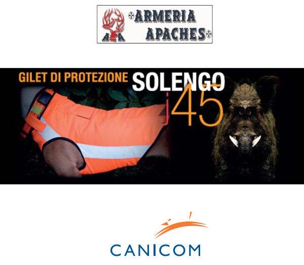 Corpetto protettivo gilet cani da cinghiale Canicom Solengo j45 made in italy