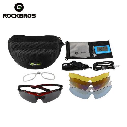 Lentes Para Ciclismo Polarizadas Protección UV400 con Espejos Intercambiables.
