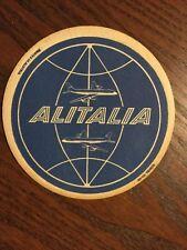Original Bierdeckel Alitalia Airlines