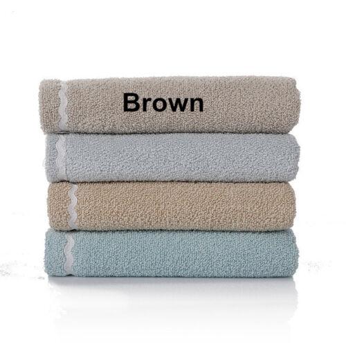 34x75cm Cotton Cartoon Little Hedgehog Embroidered Soft Absorbent Hand Towel