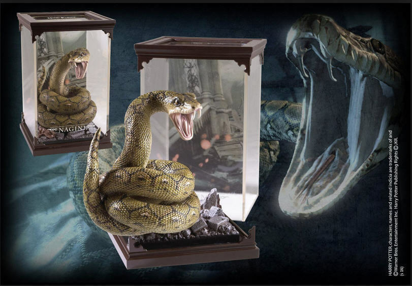 HARRY POTTER MAGICAL CREATURES NAGINI NOBLE COLLECTION HOGWARTS GRYFFINDOR