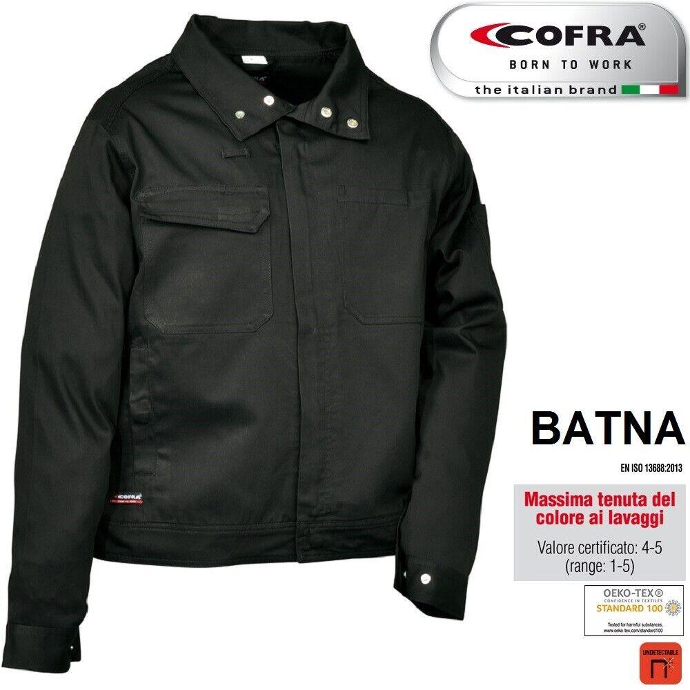 Immagine 6 - Giacca-da-lavoro-COFRA-modello-BATNA-100-cotone-300-g-m-edilizia-industria