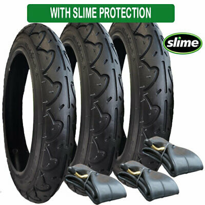 SLIME 2 x JANE SLALOM PRO 270 x 47-203 INNER TUBES FOR WHEEL BENT//ANGLED VALVE