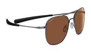 fde46c8265c Serengeti 7979 Aerial Shiny Hematite Frame Polarized Drivers Lens ...
