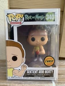 FUNKO-POP-Sentient-Arm-North-CHASE-Rick-and-Morty-340-NEW-Protector-RARE