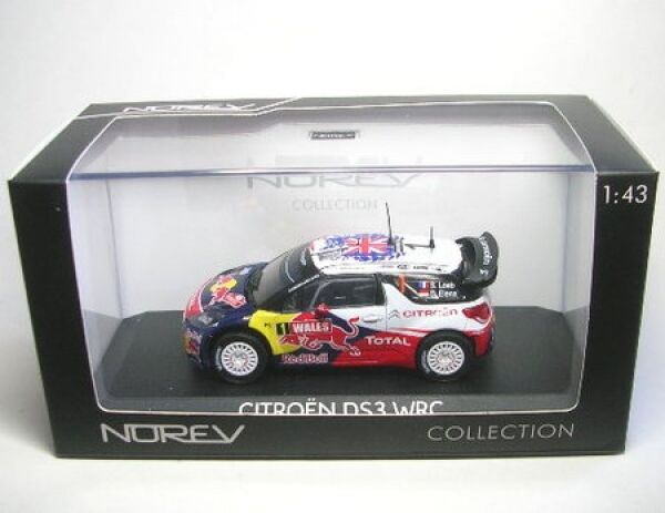 Citroen DS3 WRC No. 1 S.Loeb World Champion Rally Great Britain 2011