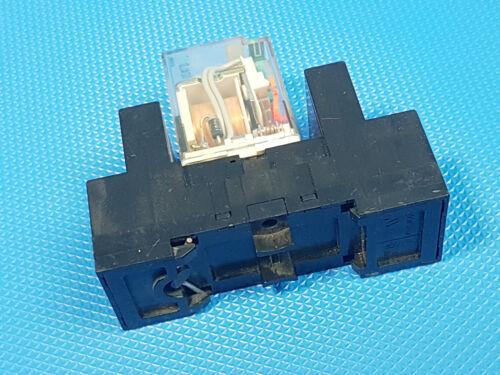Tele Haase RM 024LD Sockel RSS114 Hutschienen-Relais 24V DC    Inkl MwSt.