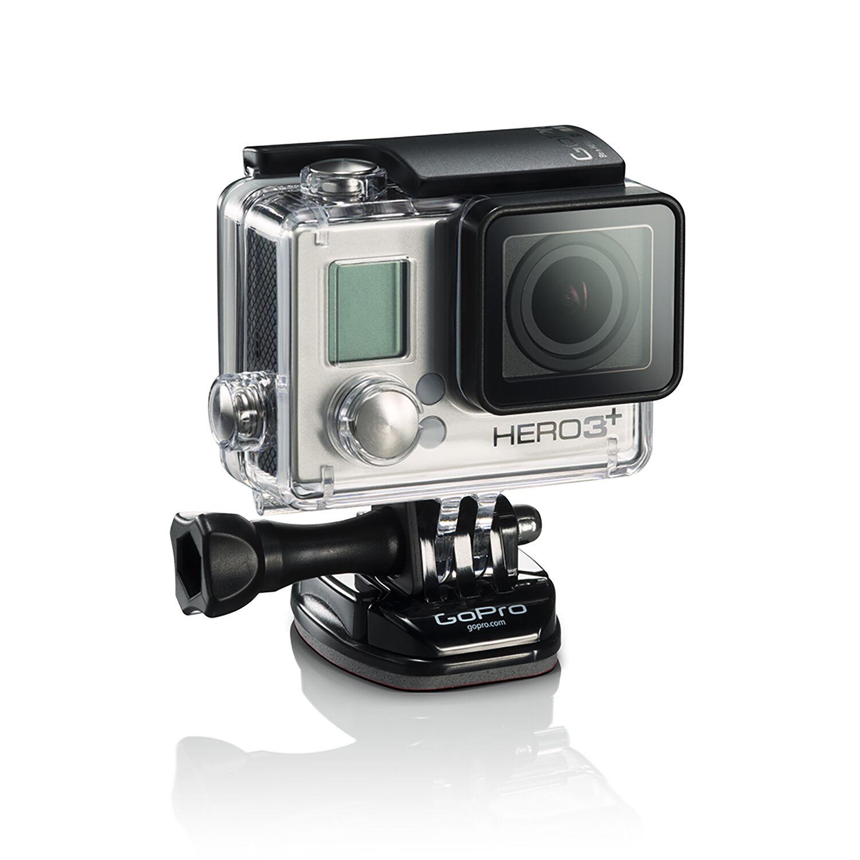 gopro hero 3 silver edition action camera camcorder certified refurbished ebay. Black Bedroom Furniture Sets. Home Design Ideas