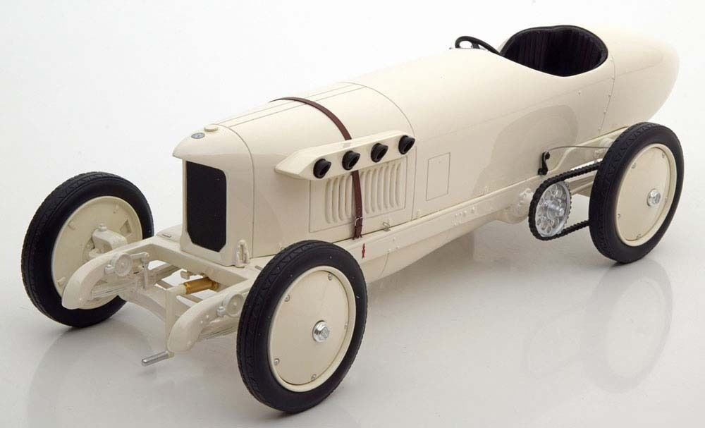 1909 Mercedes 200 PS Blitzen Benz White by BoS Models LE of 1000 1 18 Scale New