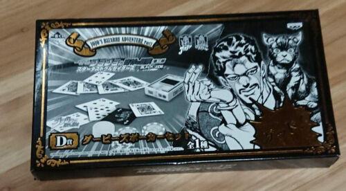 JoJo/'s Bizarre Adventure Darby/'s Poker Set Playing Cards Game Chips Ichiban Kuji