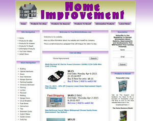 Home improvement online