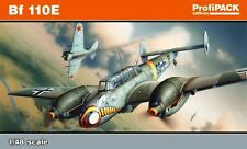 MESSERSCHMITT Bf 110 E (LUFTWAFFE & IRAQI AF MARKINGS) 1/48 EDUARD PROFIPACK