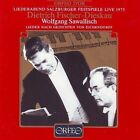 Eichendorff Lieder Salzburg Festival 1975 (sawallisch) CD